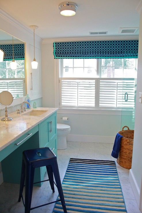 Blue Bathroom Sets