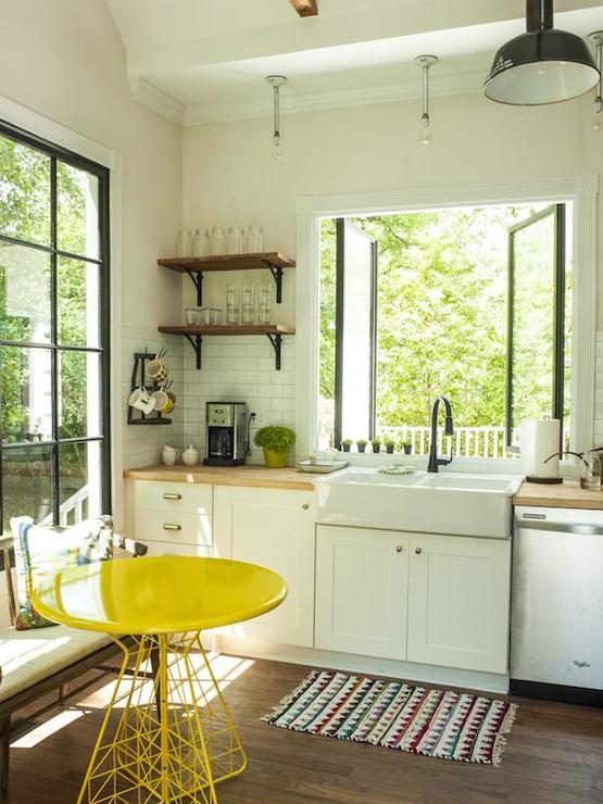 Kitchen Tiles Design Yellow