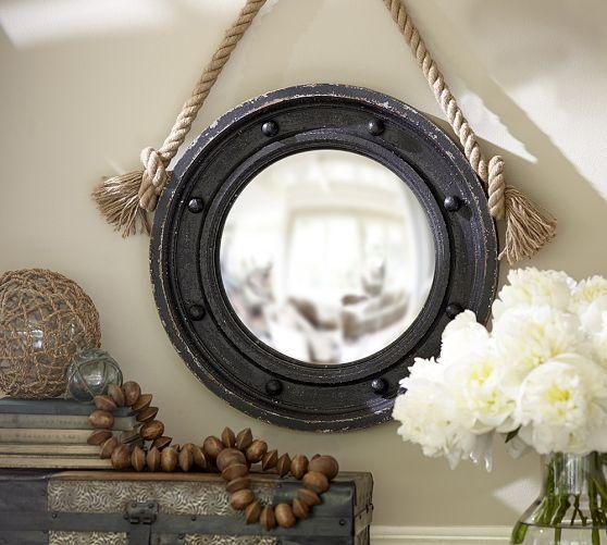 Connor Natural Rope Mirrors