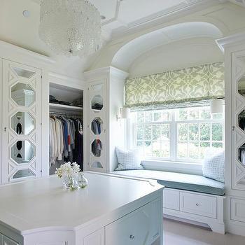 Fabric Paneled Wardrobe Doors Design Ideas