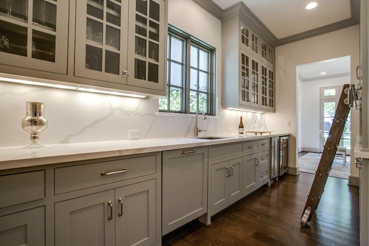 Sherwin Lazy Williams Gray Kitchen