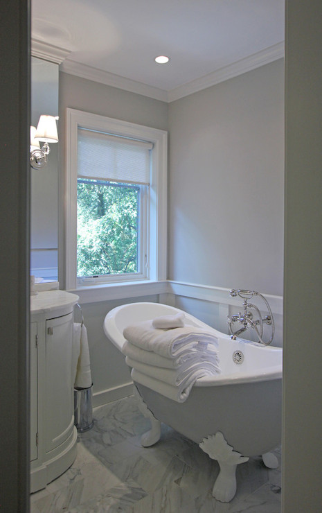 Blue And Gray Bathroom Accessories