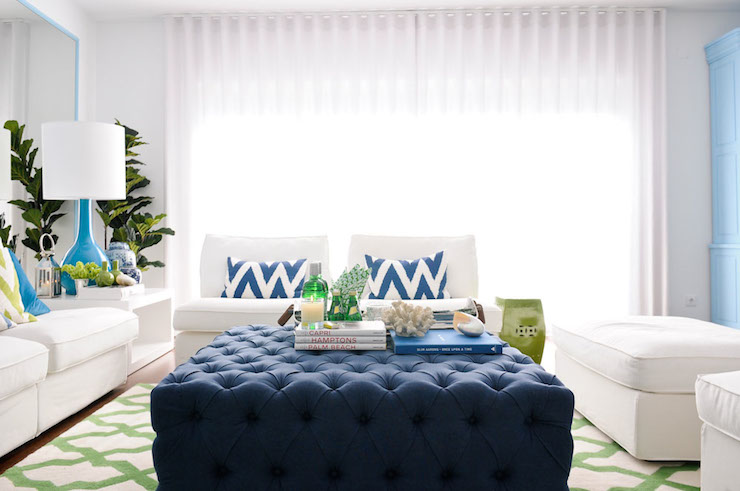 Blue Living Room Furniture Sets