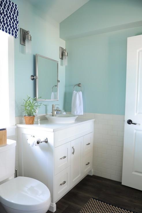 Accessories Blue Teal Bathroom