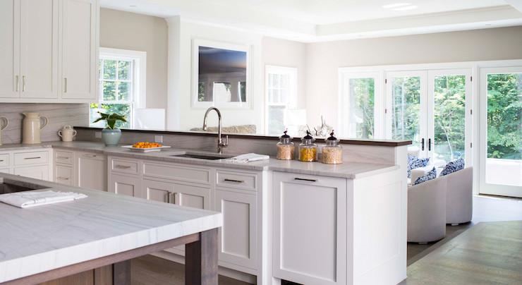 L Shaped Kitchen Designs Peninsula