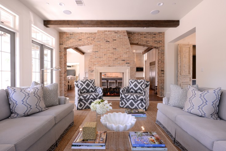 Accent Chairs Front Fireplace