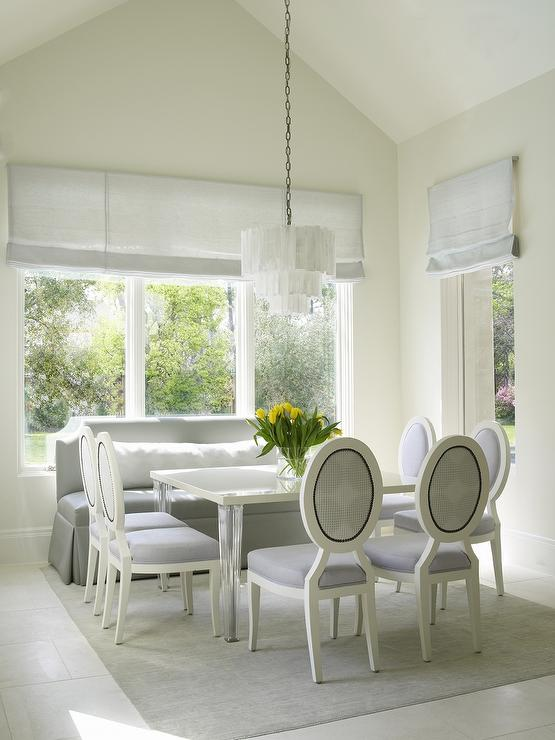 White And 4 Dining Table Chairs