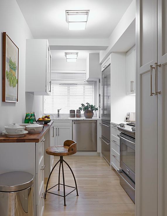 Small Narrow Kitchen Designs