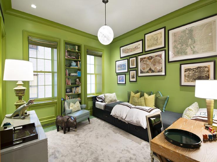Lime green and black living room ideas for Black and lime green bedroom ideas