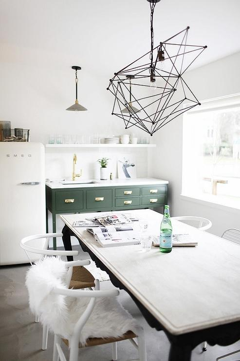 Two Light Pendant Kitchen