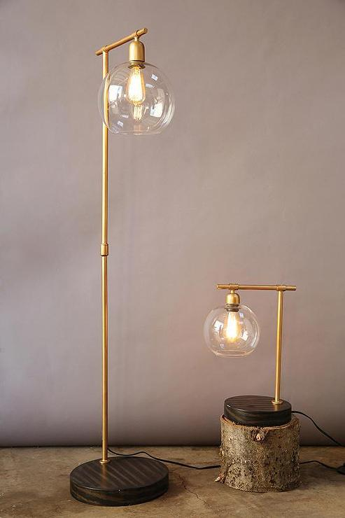 Lamp Shade Attaches Light Bulb