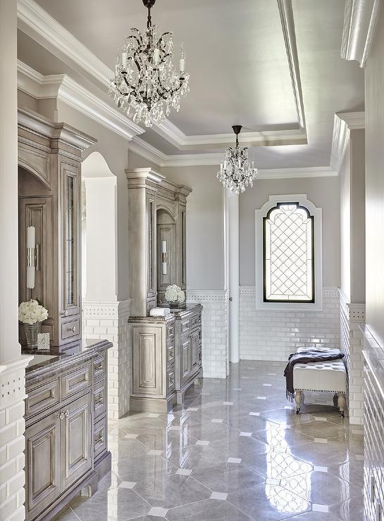 Stone Bathroom Bin