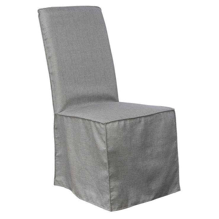 Aislin Ivory Slipcover Dining Chair