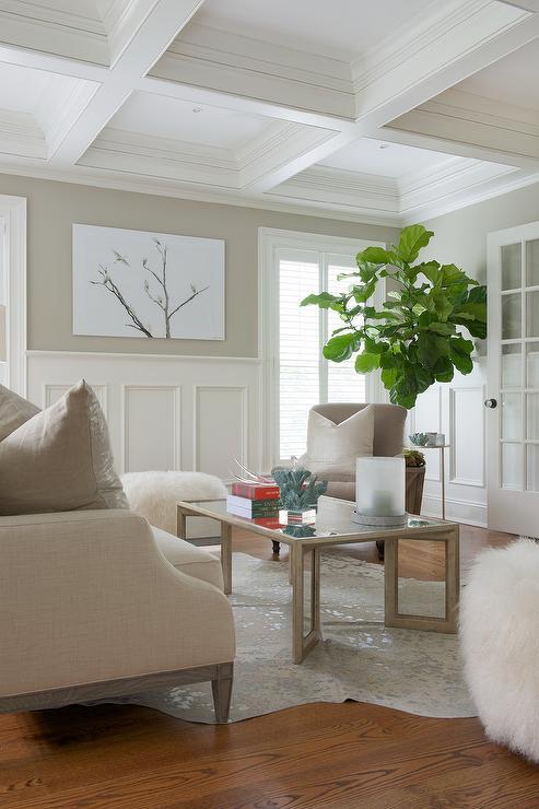 Wainscoting Living Room