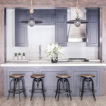 Kitchen Wood Beams Design Ideas