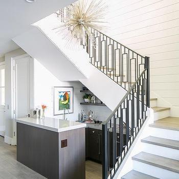 Under Staircase Mini Bar Design Ideas | Home Mini Bar Design Under Staircase | Wine Cellar | Living Room | Basement Stairs | Basement Bar | Interior Design Ideas
