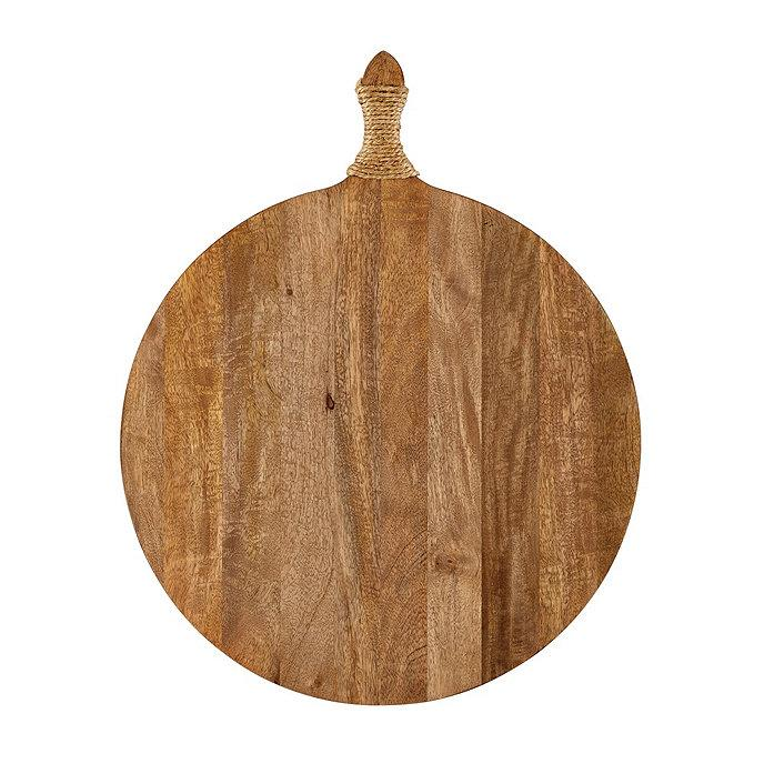 Round Wood Rope Cutting Board Wall Decor
