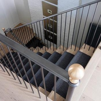 White Staircase Spindles Design Ideas   White And Grey Banister   Newel Post   Narrow Awkward Staircase   Stair Railing   Entryway   Wall