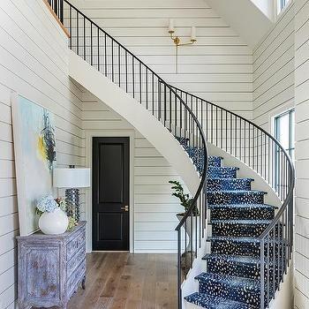 Antelope Area Rug Design Ideas   Antelope Carpet On Stairs   Stark   Patterned   Helios   Farmhouse   Foyer