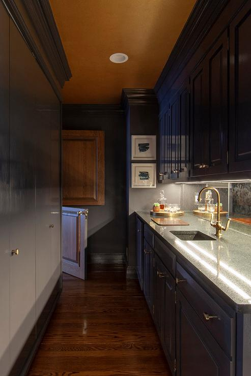 Kitchen Pantry Door Disguised As Cabinets Design Ideas