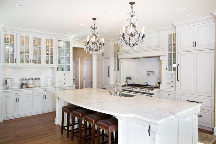 House Beautiful White Kitchens