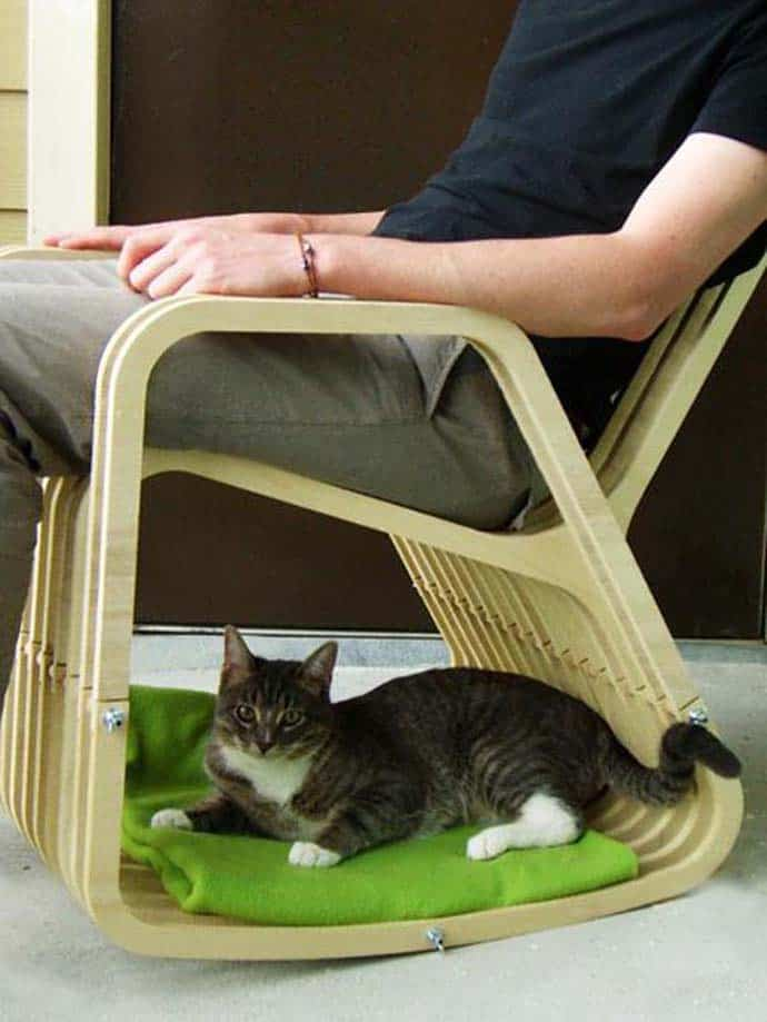 A Chair For 2 Rocking Chair And Dog Cat House
