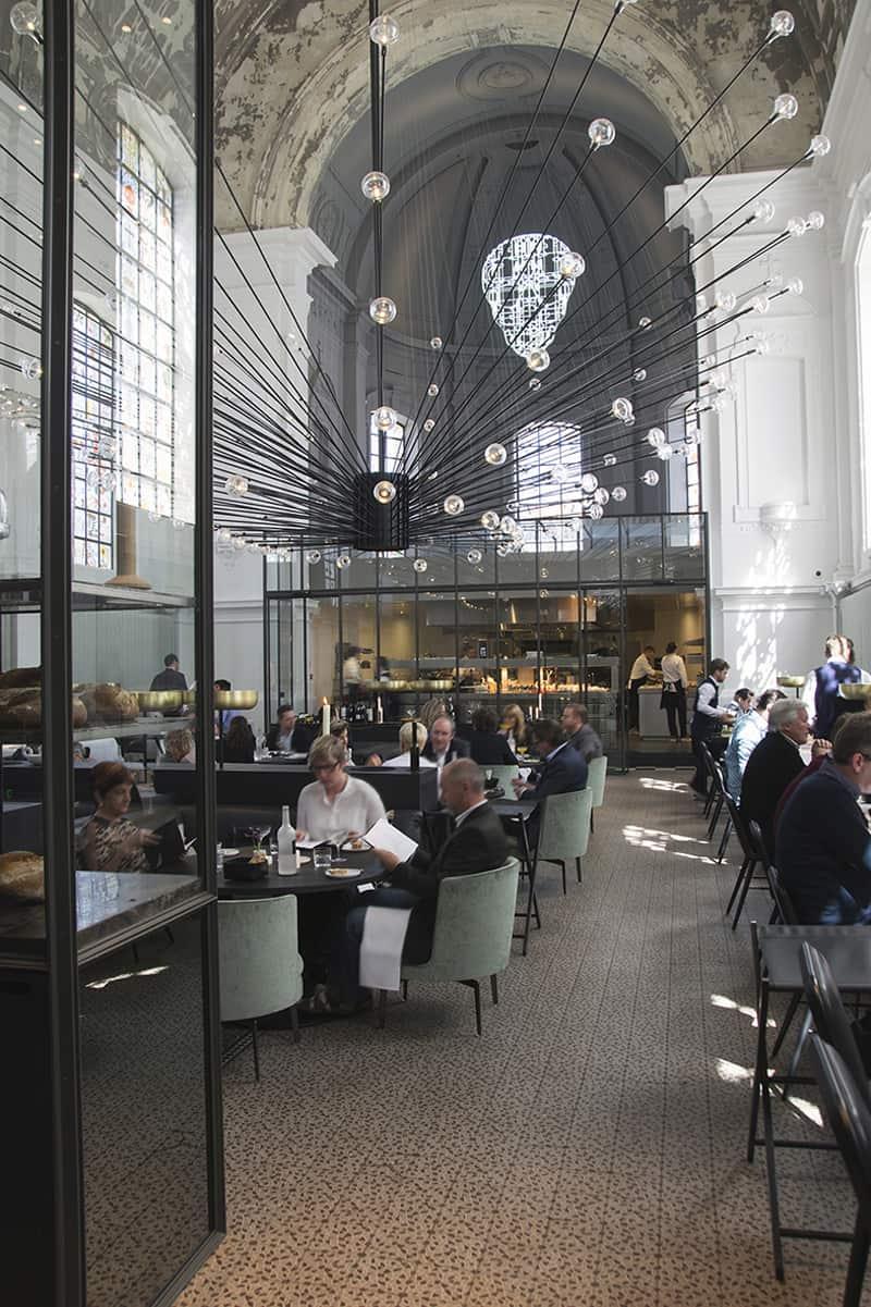 The Jane Antwerp Spectacular Restaurant Mixing Coziness