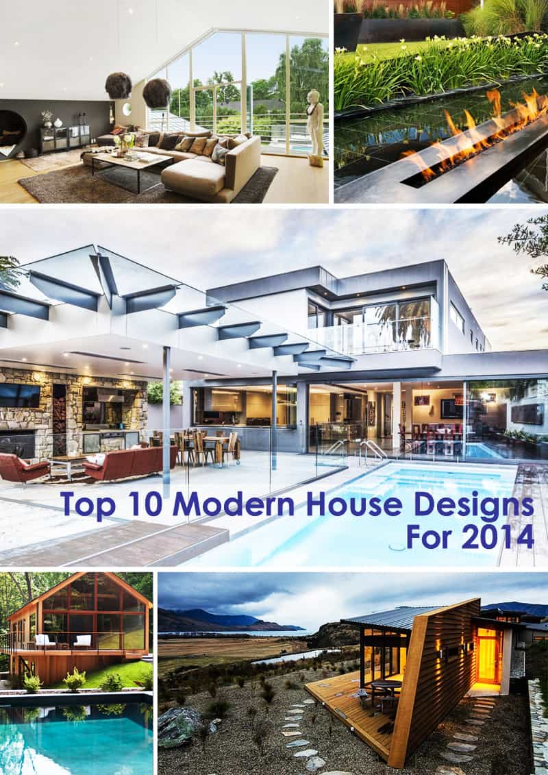 Top 10 Modern House Designs For 2014 cover modern house