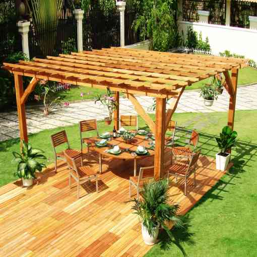 40 Modern Pergola Designs and Outdoor Kitchen Ideas     desingrul pergola  1