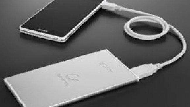Baterai Mobile Eksternal Sony Berteknologi Laminate