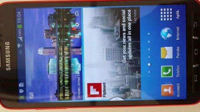 Ini Dia Galaxy S4 Active dalam Video