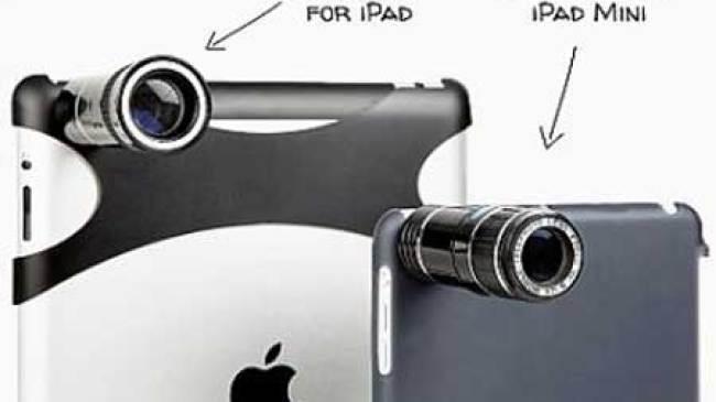 iPad Punya Lensa Pembesar Khusus