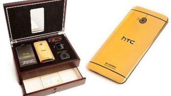 Goldgenie, Garap HTC One Berbalut Emas
