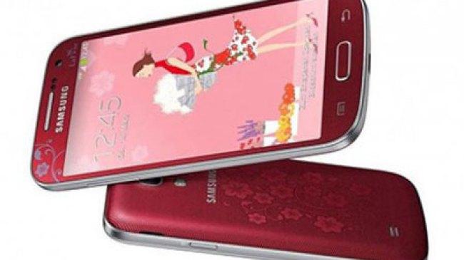 La Fleur, Samsung Galaxy S4 Mini yang Imut