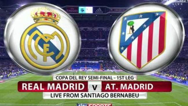Jelang duel Real Madrid Vs Athletico Madrid