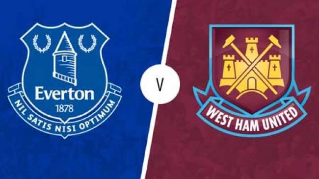 Pertandingan alot West Ham vs Everton