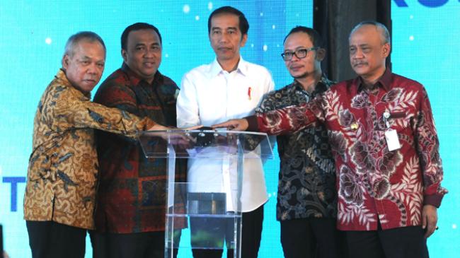 Jokowi Resmikan rusun seharga 293 Juta