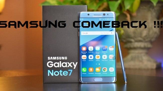 Inilah Harga Samsung Galaxy Note 7 Versi Refurbished