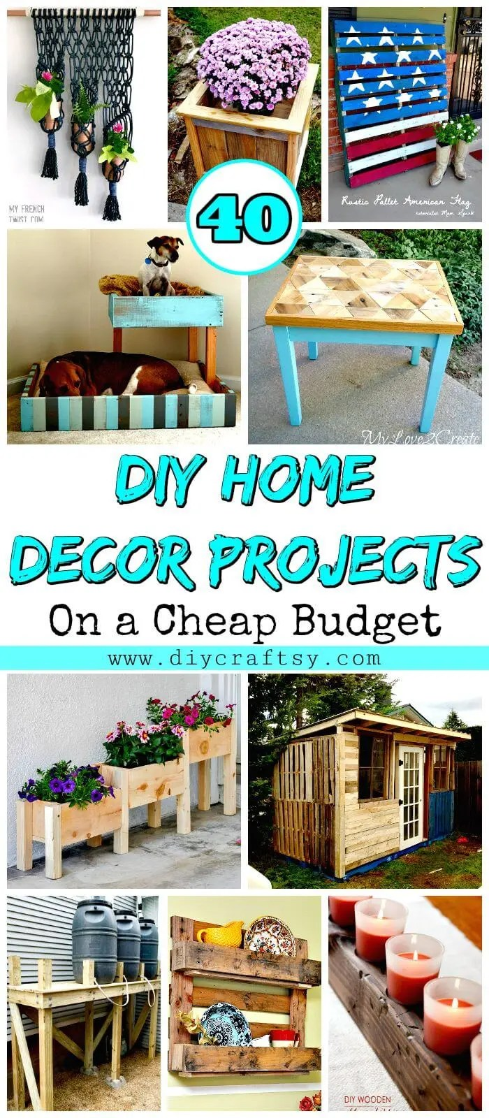 Diy Home Decor Projects Budget