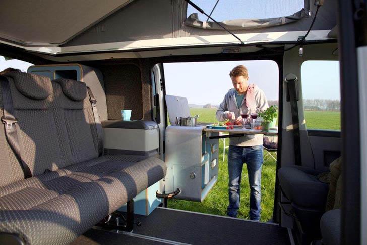 Vw T6 Makes A Solid Platform For This Tonke Built Camper