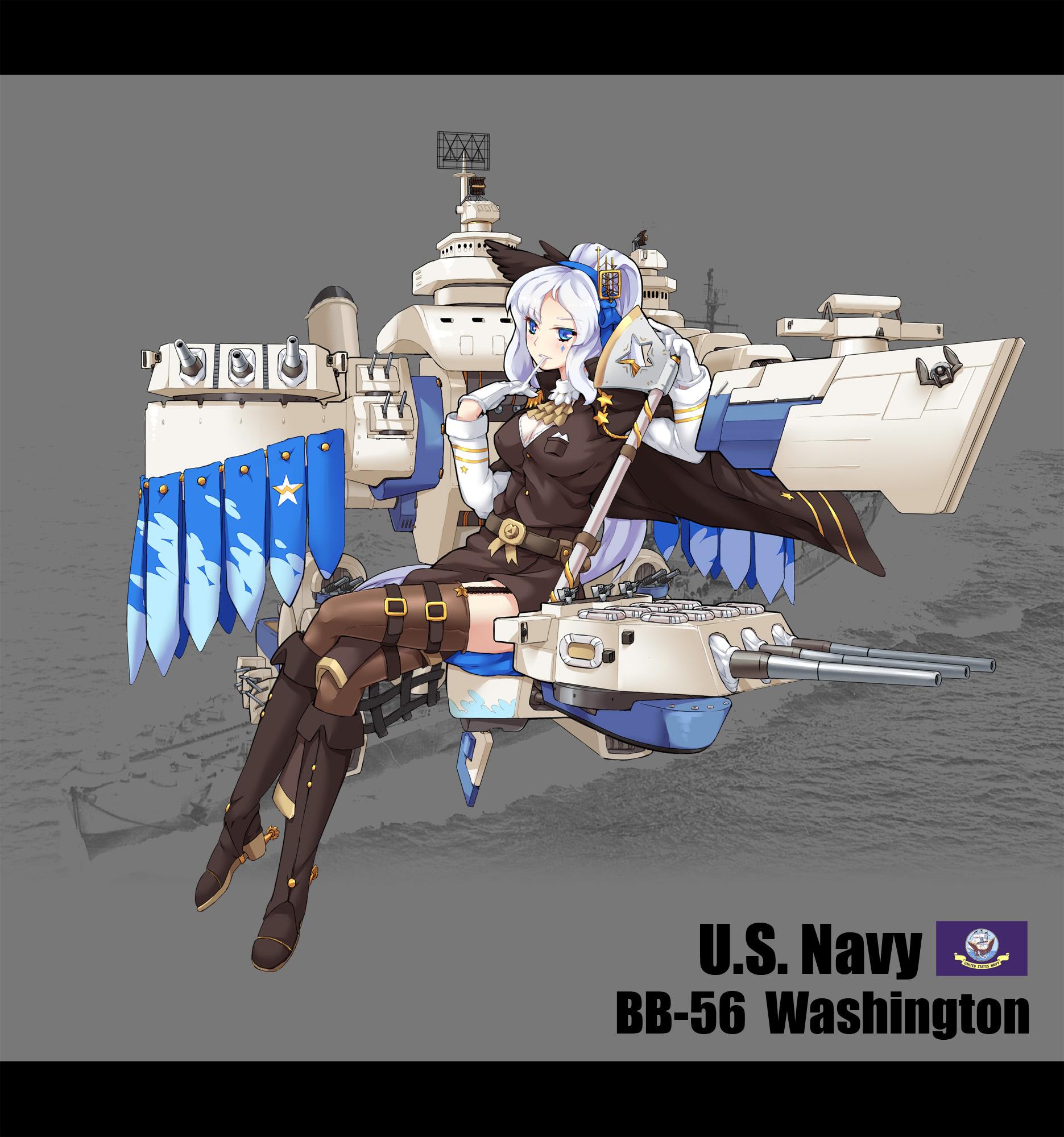 Washington Ship Uss Girls