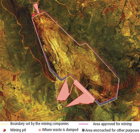 How Bellary was laid waste ANATOMY OF AN ILLEGAL MINE
