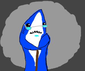 Angry Shark Drawception