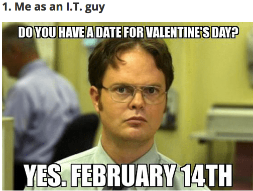25 Valentine's Day Memes That Will Make You LOL! - Gallery ...