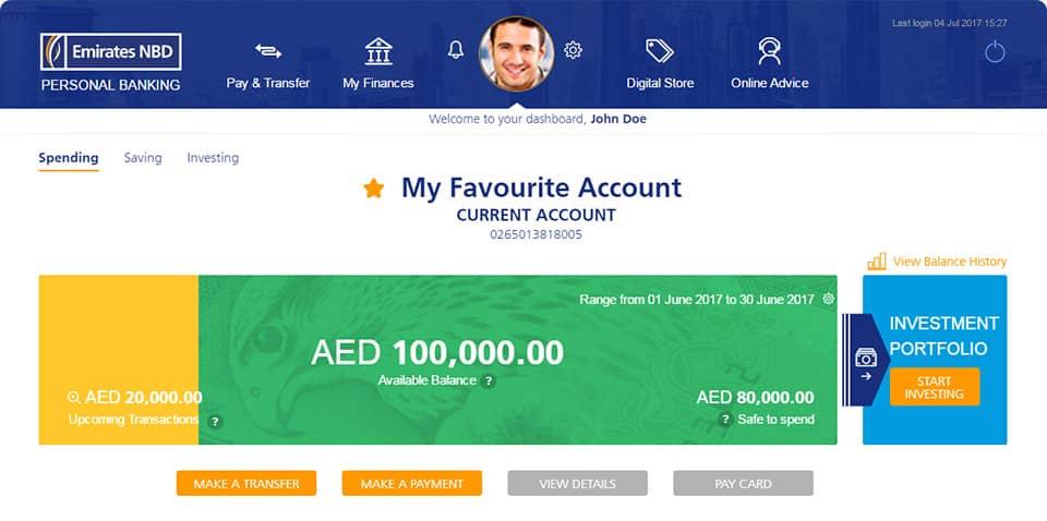 Emirates Nbd Personal Banking