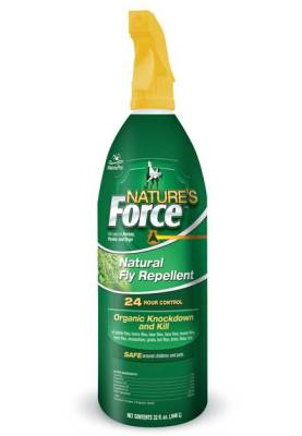 Natures Force Fly Spray   EquestrianCollections