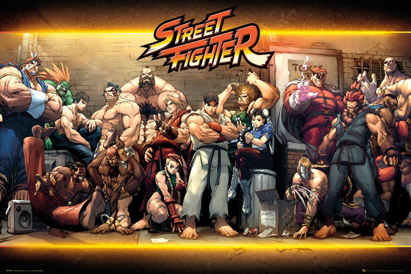 Street Fighter - Characters Poster | Sold at Abposters.com
