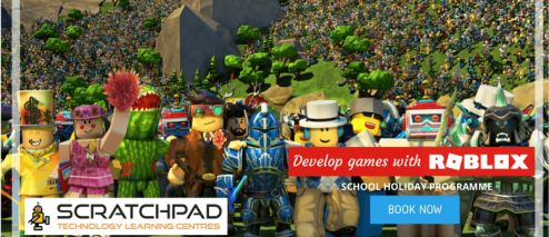 Develop Games With Roblox   Scratchpad Holiday Programme   Auckland     Develop Games With Roblox   Scratchpad Holiday Programme