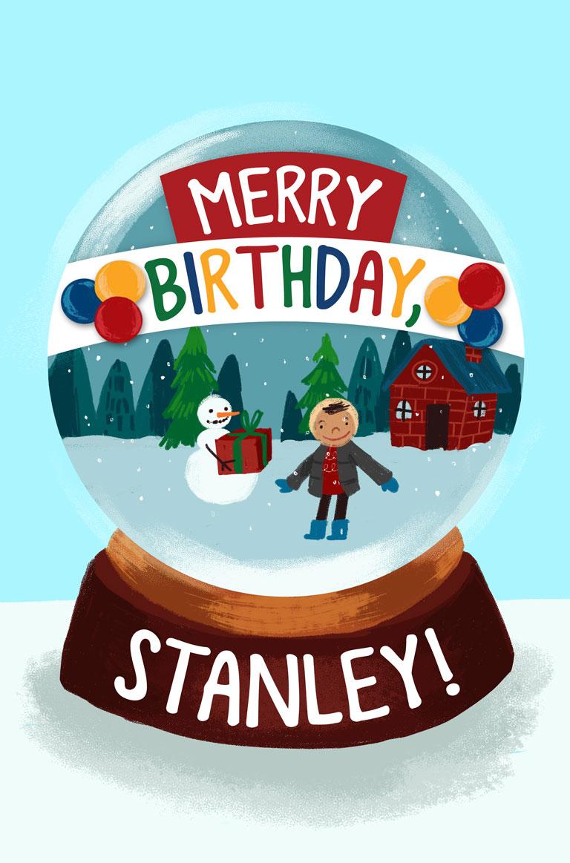 Merry Birthday Stanley Farfaria