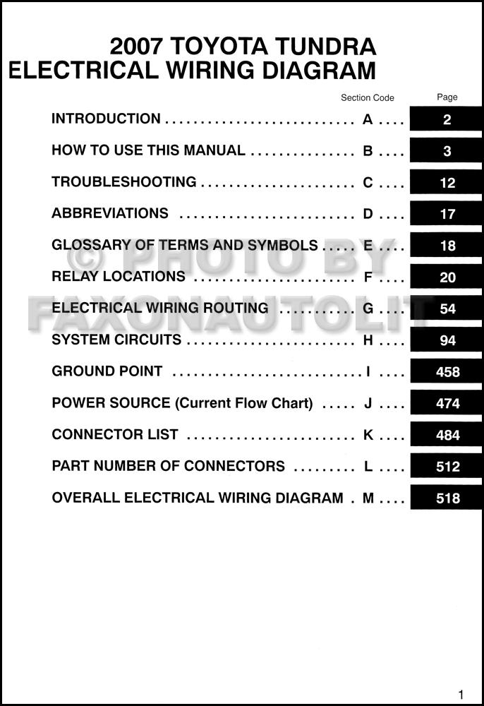 Toyota 4wd Diagram Sensor Tundra 2007